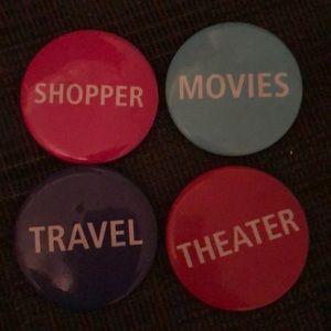 Pin buttons bundle